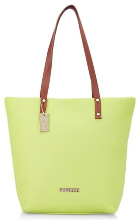 CAPRESE Women Faux Leather Tote Bag - Green