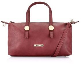 CAPRESE Women Faux Leather Handheld Bag - Red