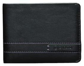 Carlton Women Black Leather Wallet