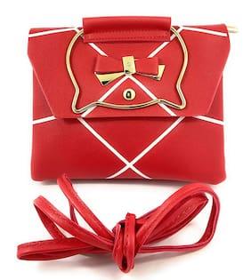 Cat-Red Sling Bag New Tie-Stylish Bag Girls/Women
