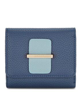 Ceriz Women Synthetic Wallet - Blue