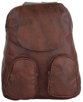 CFI Girls Dark Brown Backpack