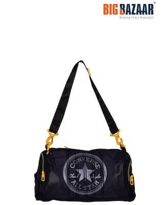 01425063c62 Buy Converse Black Duffel Bag For Gym   Sports Training Online at ...