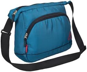 Cosmus Blue Polyester Messenger bag