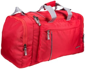 Cosmus Polyester Men Gym bag - Red