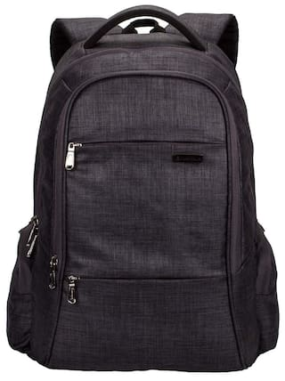 ed4634a22db1 Cosmus Darwin Dx Laptop Backpack - 29 litres Dark Grey Linen Polyester  Durable Fabric Office Laptop