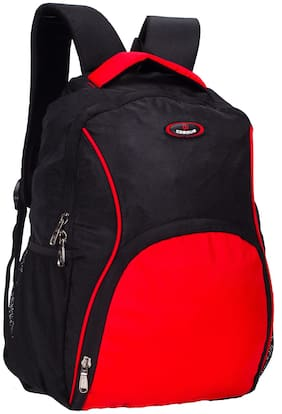 Cosmus LTB-1043-MOSCOW - BK+RED Waterproof Laptop Backpack