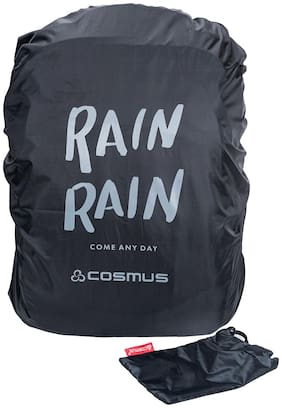Cosmus  Rain Rain Black  Rain & Dust Cover with Pouch for Laptop Bags and Backpacks