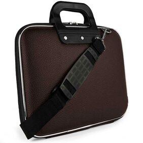 COSYKART Leather Men Messenger Bag - Brown
