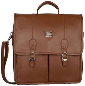 AspenLeather Laptop briefcase [ Up to 18 inch Laptop]