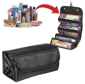 CPEX Roll N Go Makeup Toiletry Cosmetic Bag Organizer Travel Mate