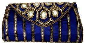 Craft Trade Mirror Clutch (Blue)