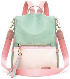 CRAFTWOOD Pink Synthetic Backpack