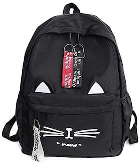 CRAFTWOOD Black Synthetic Backpack