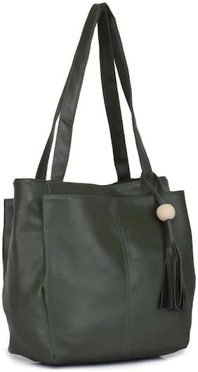 Craveforit PU Women Handheld Bag - Green