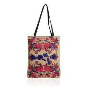 Divamm Women Solid Canvas - Tote Bag Multi