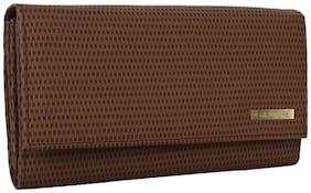 Creature Women Solid Leather - Clutch Brown