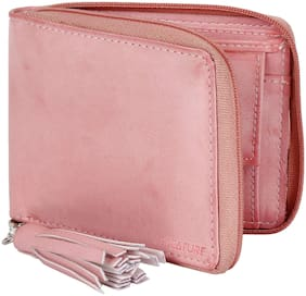 Creature Women Pink PU Wallet
