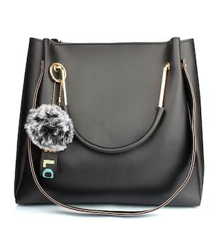 Daniel Clark Black PU Handheld Bag