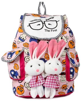 Deal Especial new stylish Bunny backpack Multicolored colors bag