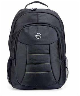 Krishna Black Canvas Laptop backpack