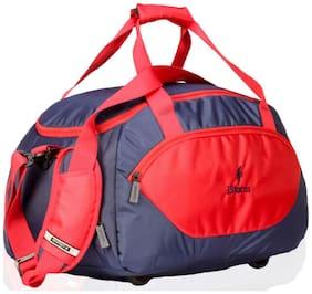 Istorm Leather Men Duffle bag - Blue