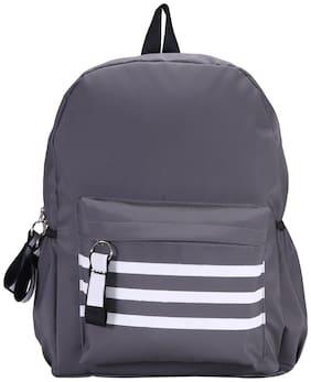 Desence Grey PU Backpack