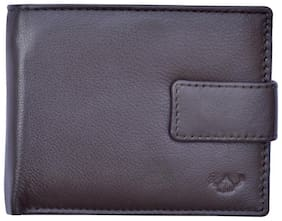 DHide Designs Women Brown Leather Wallet