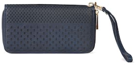 Diana Korr Women Blue PU Wallet