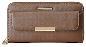 Diana Korr Women Brown PU Wallet