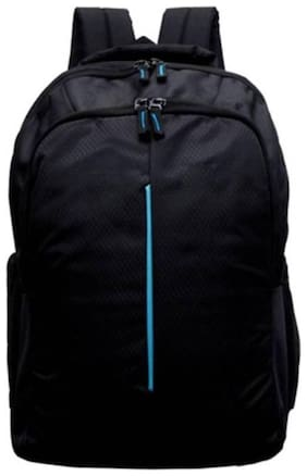 Dice 2 kg Black Polyester Laptop backpack