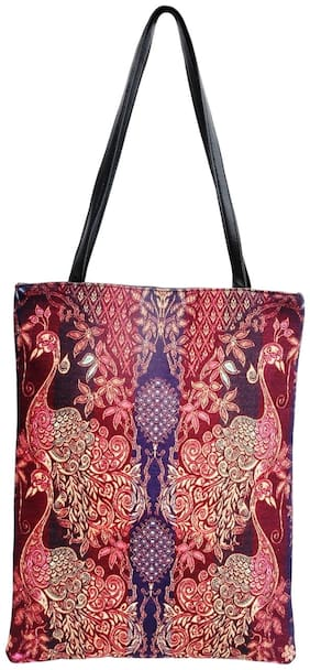 Travelcraft Women Solid Canvas - Tote Bag Multi