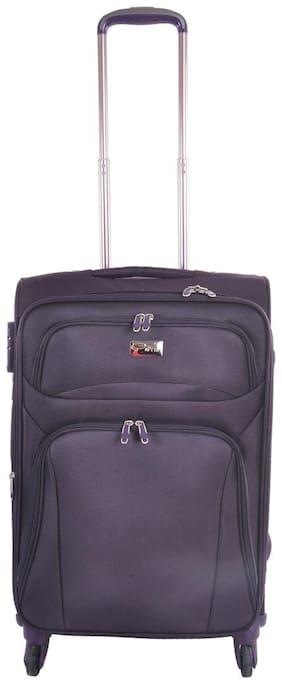 SPRINT Medium Size Hard Luggage Bag - Purple , 4 Wheels