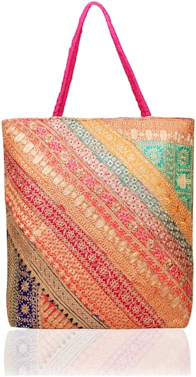 DN Women Printed Fabric - Tote Bag Multi
