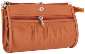 DN Women Fabric Wallet - Tan
