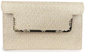 Do Bhai Women Solid Synthetic - Clutch Multi