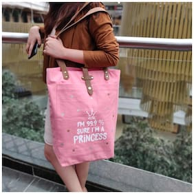 Doodle Women Solid Canvas - Tote Bag Multi