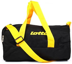 Lotto Satin Men Gym bag - Yellow
