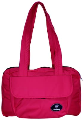 Duckback Pink Polyester Shoulder Bag