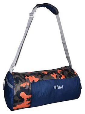 Duffle Gym Bag (Navy Blue)
