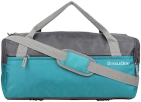 DUSSLE DORF Polyester Men Gym bag - Blue
