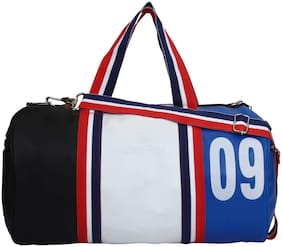 DUTY FREE Leather Men Duffle bag - White
