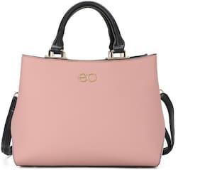 E2O Pink PU Handheld Bag