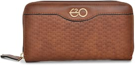 E2O Fashion Tan Wallet