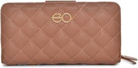 E2O Women Pu Wallet - Pink