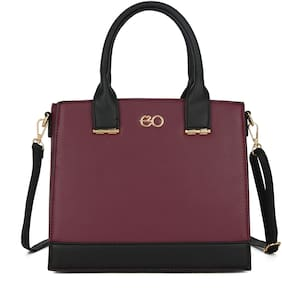 E2O Brown PU Satchel