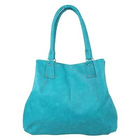 Eklavya Sky Blue Women's Shoulder Bag Handbag