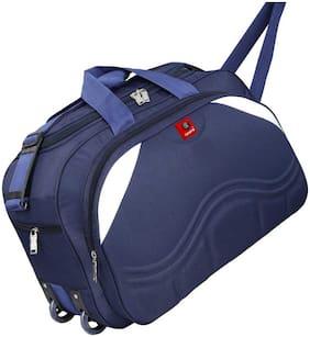 Elegent duffel bag cabin size for unisex navy blue