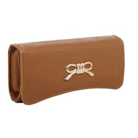 Element Cart Easy to Carry Brown Clutch For Ladies