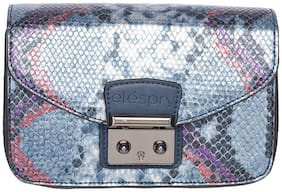 Elespry Multi PU Solid Sling Bag